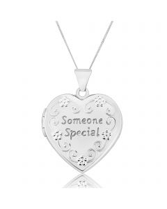 Sterling Silver 'Someone Special' Locket Pendant