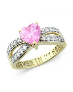 Ladies Stone-Set 'Forever in my Heart' Ring