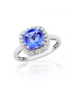 'Blue Lagoon' Cocktail Ring