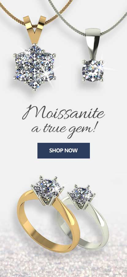 Moissanite a true gem! | Jewellery Moments