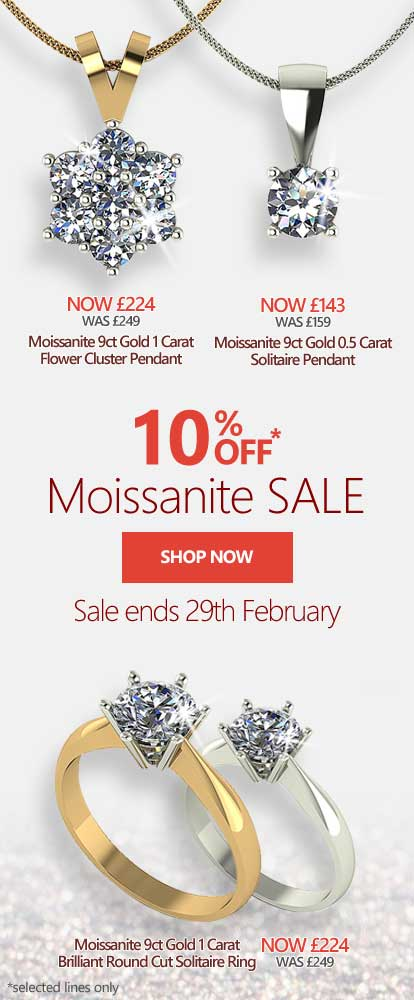 Moissanite Jewellery Sale | Jewellery Moments